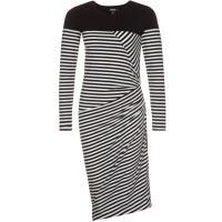 DKNY Sukienka z dżerseju black DK121C02I-Q11