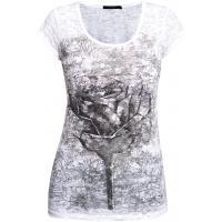 Monnari Wzorzysty, bawełniany t-shirt TSH2190