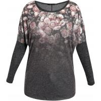 Monnari T-shirt z różami TSH1960