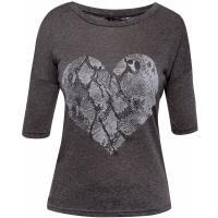 Monnari Melanżowy t-shirt z sercem TSH3940