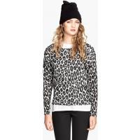 H&M Wzorzysty sweter 26545-B