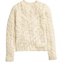 H&M Sweter w warkocz 26732-A