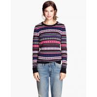 H&M Żakardowy sweter 51871-B