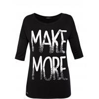 Monnari T-shirt z drukowanym napisem TSH2820