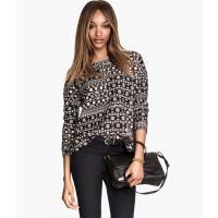 H&M Bluza z wyraźną fakturą 55832-A