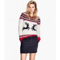 H&M Żakardowy sweter 51871-D