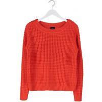 Vila DEXLEY Sweter mandarin red V1021I098-H11