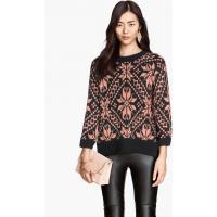 H&M Żakardowy sweter 58931-F