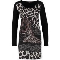 Anna Field Sukienka z dżerseju black AN621C0LT-Q11