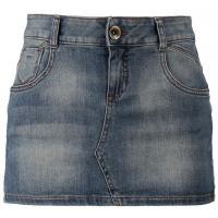 Sisley Spódnica jeansowa niebieski 7SI21B00X-K00