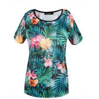 Monnari T-shirt z tropikalnym motywem TSH2190