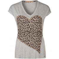 BOSS Orange VANDIA T-shirt z nadrukiem medium grey BO121D045-C11