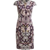 Just Cavalli Sukienka z dżerseju rose/purple/white JU621C04G-J11