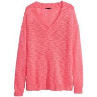 H&M Sweter 0244963002 Różowy