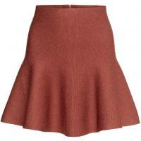 H&M Cienka spódniczka z wełną 0236484004 Czerwony