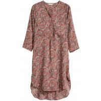 H&M Sukienka-tunika 0283781007 Pudroworóżowy/Wzór
