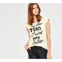 Reserved T-shirt YFL z nadrukiem LL453-10X
