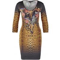 Just Cavalli Sukienka z dżerseju leo JU621C04N-O11