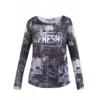 Monnari Wzorzysty t-shirt typu longsleeve TSH5600
