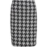 Anna Field Spódnica ołówkowa black/light grey AN621BA0C-A11