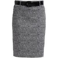 Anna Field Spódnica ołówkowa white/black AN621B038-A11