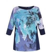 Monnari T-shirt z wielobarwnym printem TSH5580