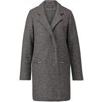 Vila VILEAK Krótki płaszcz dark grey melange V1021I0DK-C11