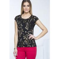 Monnari T-shirt w małe kwiatki TSH0380