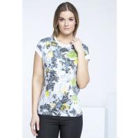 Monnari T-shirt z wielobarwnymi kwiatami II TSH2810