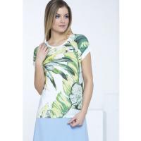 Monnari T-shirt z tropikalnym wzorem II TSH1590