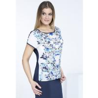 Monnari T-shirt z wiosennym motywem TSH0630