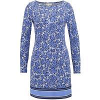 MICHAEL Michael Kors CHILL Sukienka z dżerseju crew blue/white MK121C05B-K11