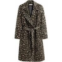 H&M Wool-blend coat 0409498001 Leopard print