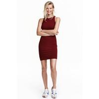 H&M Sukienka bez rękawów 0374762003 Ciemnordzawy