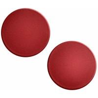 H&M Okrągłe kolczyki 0427189002 Burgund