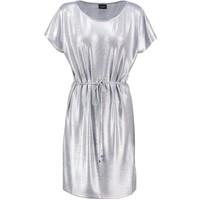Vila VILEIKA Sukienka z dżerseju light grey melange V1021C0OC-C11