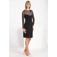 Monnari Wieczorowa sukienka z siateczką SUKPOL0-16J-DRE2500-KM20D601-R36