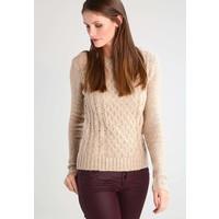Zalando Essentials Sweter beige melange ZA821IA0V