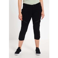 Zizzi Spodnie materiałowe black Z1721A00U