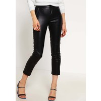 Topshop Spodnie materiałowe black TP721A08F