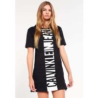 Calvin Klein Jeans Sukienka z dżerseju black C1821C01E