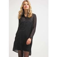 Sisley DEVORE Sukienka koszulowa black 7SI21C05T