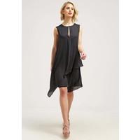 Sisley Sukienka letnia black 7SI21C05J