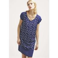 Sisley Sukienka letnia blue 7SI21C05C