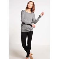 Ragwear SHEILA Bluzka z długim rękawem black melange R5921D029