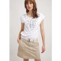 Q/S designed by T-shirt z nadrukiem white QS121D0DP