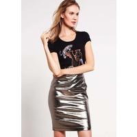 Versace Jeans T-shirt z nadrukiem nero 1VJ21D01N
