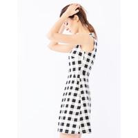Mohito Sukienka w kratę QM499-00X