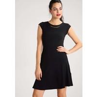 Anna Field Sukienka z dżerseju black AN621CADM