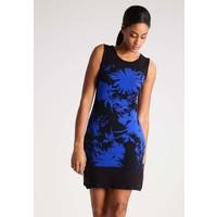 Anna Field Sukienka z dżerseju black/blue AN621CACU